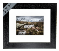 Glen Coe by River Coe. Framed Print JK_09_5x7